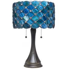 tiffany stained glass lamp. Beauty Home Lighting Decor With Tiffany Style Table Lamps: Antique Stained Glass Lamps Lamp