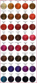 Hair Rinse Color Chart Jazzing Hair Color Cherry Cola 65 Correct Roux Fanciful