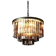 odeon glass fringe rectangular chandelier smoke glass fringe rectangular chandelier 1920s odeon clear