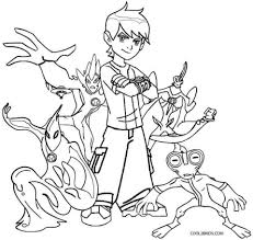 Small Picture Coloring Pages Boys Ben 10 Alien Coloring Pages Ben 10 Coloring