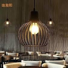warehouse style lighting. Vintage Warehouse Lighting Style Retro Indoor Pendant Light Led Lights Iron Cage .