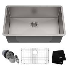 30 L X 18 W Undermount Kitchen Sink With Basket Strainer Reviews