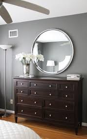 wall paint with brown furniture. Gray Walls, Dark Brown Furniture\u2014bedroom? Paint Color: Amherst Grey \u2013 Benjamin Moore. Wall With Furniture