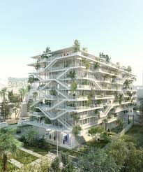 green office building. Interesting Building NLA Reveals Plans For OpenConcept Green Office Building In France Throughout