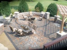 how to build a raised patio on slope inspirational paver drainage of