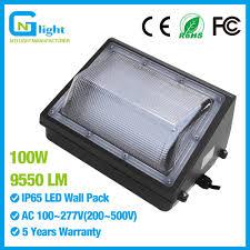 Forward Throw Lighting 100 277v Forward Throw Led Wall Pack Light 100 Watts 9550