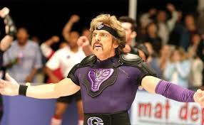 the owner of globo gym and the team leader of the globo gym purple cobras white goodman pla by ben stiller is a fitness obsessed megalomaniac with one