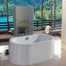 bathtubs idea astounding 58 inch freestanding bathtub with remodel