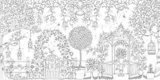 Small Picture Secret Garden An Inky Treasure Hunt and Colouring Book Amazonco