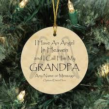 angel grandpa memorial ornament loss of grandfather