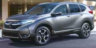 2018 Honda CRV Colors