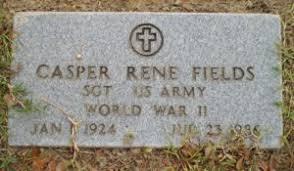 Casper Rene Dovall Fields (1924-1986) | WikiTree FREE Family Tree