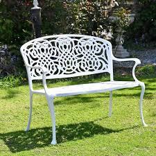 cream cast aluminium traditional garden