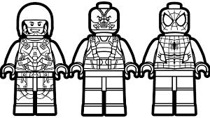 Small Picture Lego Spiderman vs Lego Atom vs Lego Dark Knight Rises Coloring