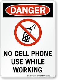 No Cell Phones Sign Printable No Cell Phone Use Rome Fontanacountryinn Com