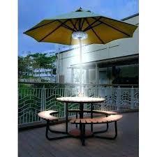offset patio umbrella with led lights lighting garden 11 ft solar in ta