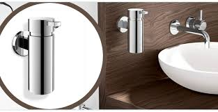 bathroom soap dispensers wall mounted. Stainless Steel Zack Scala Liquid Soap Dispenser Bathroom Dispensers Wall Mounted S