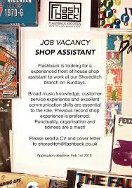 Cv Shop Assistant