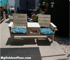 jack and jill bench diy project