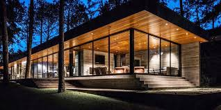Modern houses architecture Single Story Modern Residence Is At One With Nature Youtube Modern Homes And Modern Houses Architecture