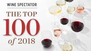 Wine Spectator Vintage Chart 2018 Wine Spectators Top 100 Wines All Lists Wine Spectators