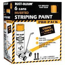 Rust-Oleum Professional Yellow Enamel Spray Paint (Actual Net Contents:  18-oz