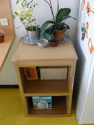 how to make cardboard furniture. make an endtable out of cardboard entirely offbeat home u0026 life how to furniture e