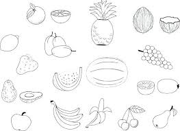 The Best Free Fruit Coloring Page Images Download From 1011 Free