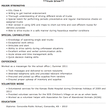 Entry Level Truck Driver Resume Sample Httpresumesdesign Resume For