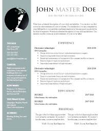 Google Docs Resume Templates Fascinating Google Docs Resume Template Free Resume Template For Google Docs