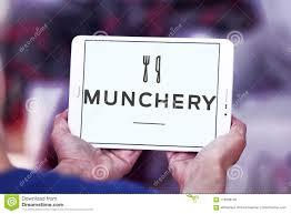 Munchery Online Food Ordering Logo Editorial Stock Photo