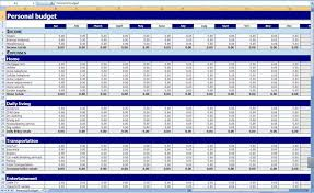 Amazing Monthly And Yearly Budget Spreadsheet Excel Template