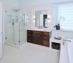 Bathroom remodel gray tile Dark 11 Simple Ways To Make Your Small Bathroom Look Bigger Designer Carla Aston Carla Aston 11 Simple Ways To Make Small Bathroom Look Bigger Designed