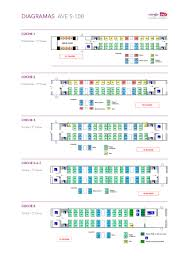 Renfe Seating Chart France Spain High Speed Train Network Acp Rail