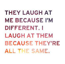 Different Is Beautiful Quotes Best Of Different Is Beautiful Via Tumblr On We Heart It