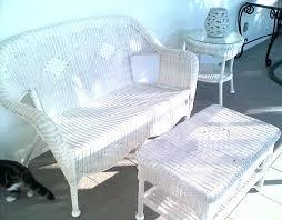 Perfect White Wicker Patio Furniture  Furniture Design IdeasWhite Resin Wicker Outdoor Furniture