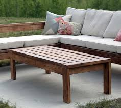 ana white 2x4 outdoor coffee table diy projects pertaining to outside tables idea 1