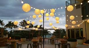 full size of patio awesome outdoor decor with paper lantern string lights for home decorating ideas