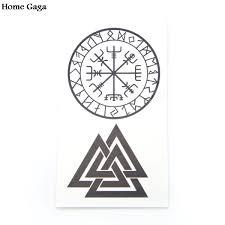 викинг один символ Valknut Unicursal 7x7 Valhalla нашивка с надписью из пвх