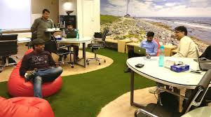 google office images. Breakout Area DLF Corporate Greens, Sector-74A - The Office Pass Google Images