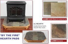 a j hearth stove boards