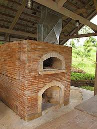 how to build a brick oven plans outdoor pizza wood fired with fireplace