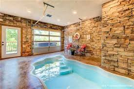 indoor pool and hot tub. The Cabin\u0027s Indoor Pool And Hot Tub