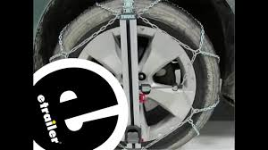 Thule Snow Chains Fit Chart Etrailer Thule Easy Fit Cu9 Snow Tire Chains Review 2013 Subaru Forester