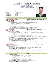 Ideas Collection Curriculum Vitae Sample Nurses Philippines
