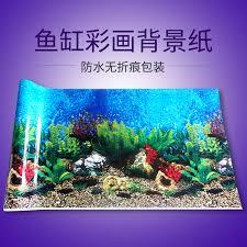 aquarium background painted aquarium background paper background wallpaper mural stickers decorative fish tank aquarium landscaping supplies
