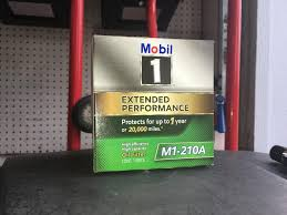 Virgin Mobil 1 M1 210a Annual Filter C P Bob Is The Oil Guy