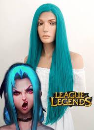 League of Legends LOL Jinx Long Wavy ...
