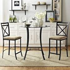 3 piece bradley counter dining set