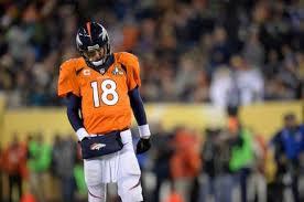peyton manning broncos. Broncos Quarterback Peyton Manning Hangs His Head Sunday During Super Bowl  XLVIII Against The Seahawks At MetLife Stadium In East Rutherford, N.J. Peyton Manning Broncos V